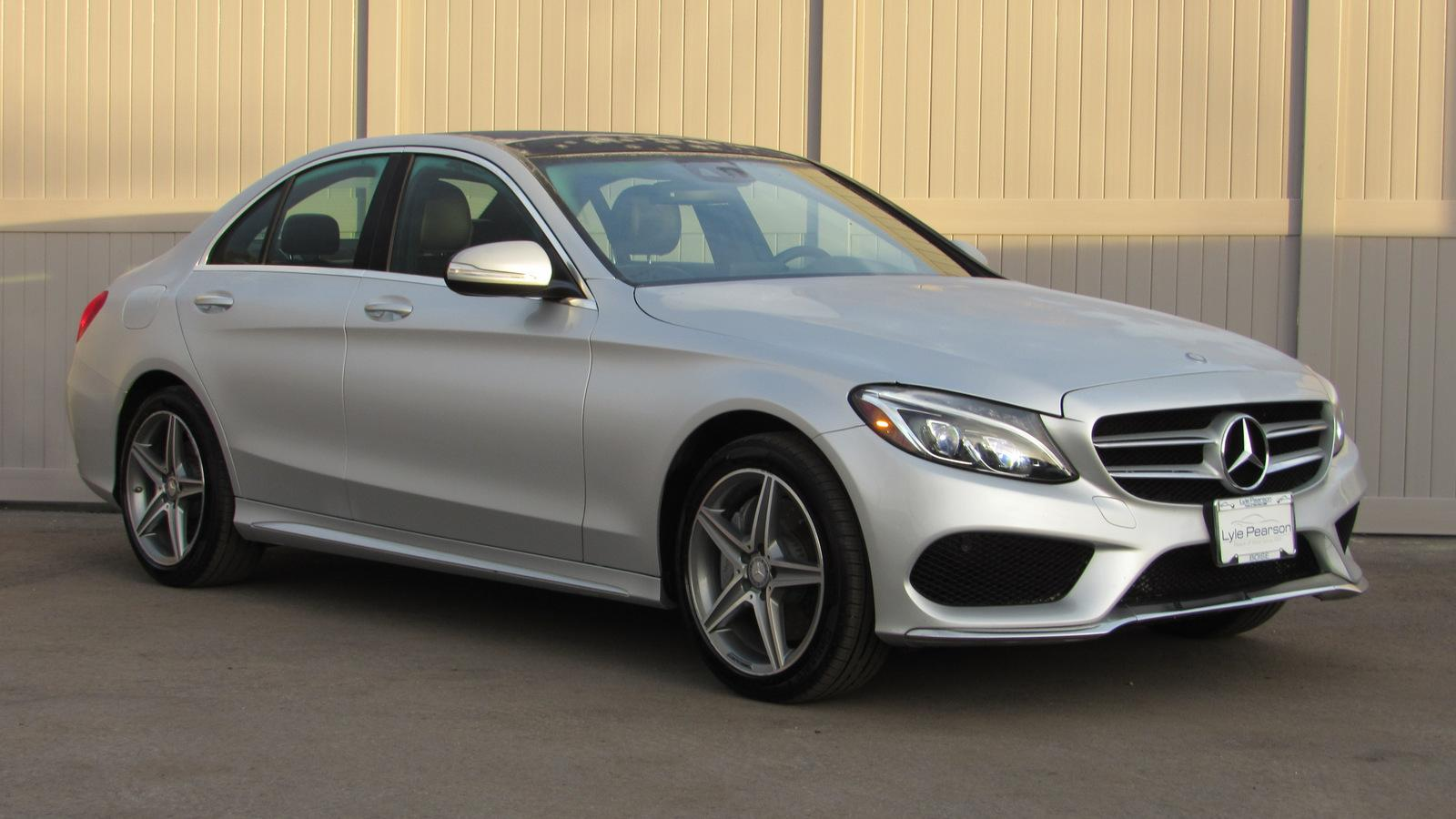 Pre-Owned 2015 Mercedes-Benz C-Class 4dr Sdn C 300 Sport 4MATIC®