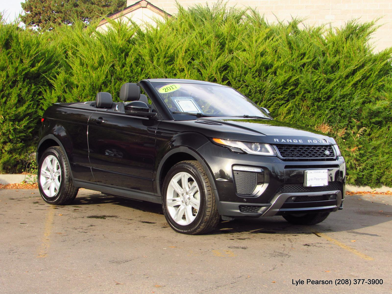Certified Pre Owned 2017 Land Rover Range Evoque Convertible Hse Dynamic