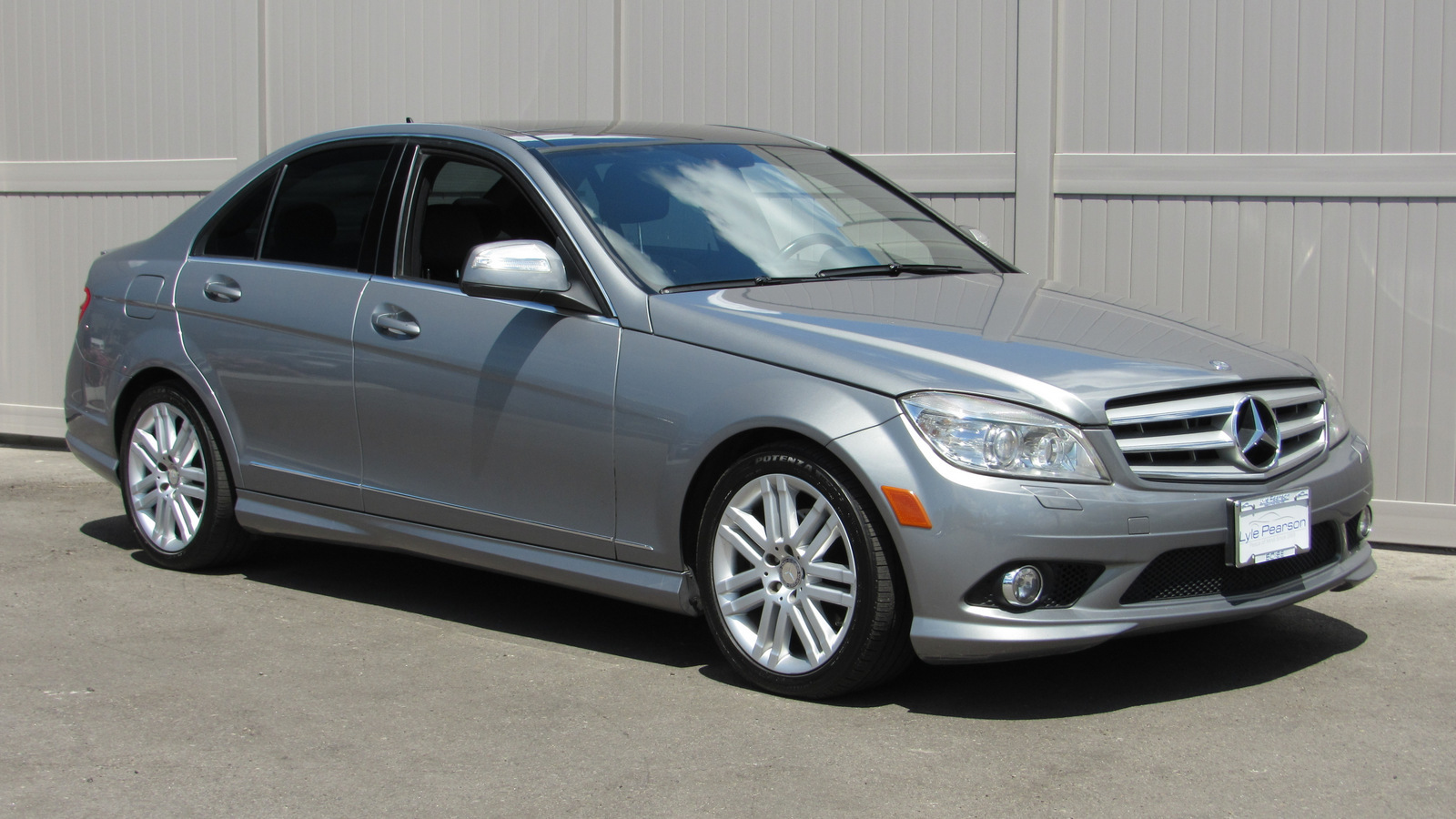 Pre Owned 2009 Mercedes Benz C Class 4dr Sdn 3 0l Sport 4matic With Navigation Awd